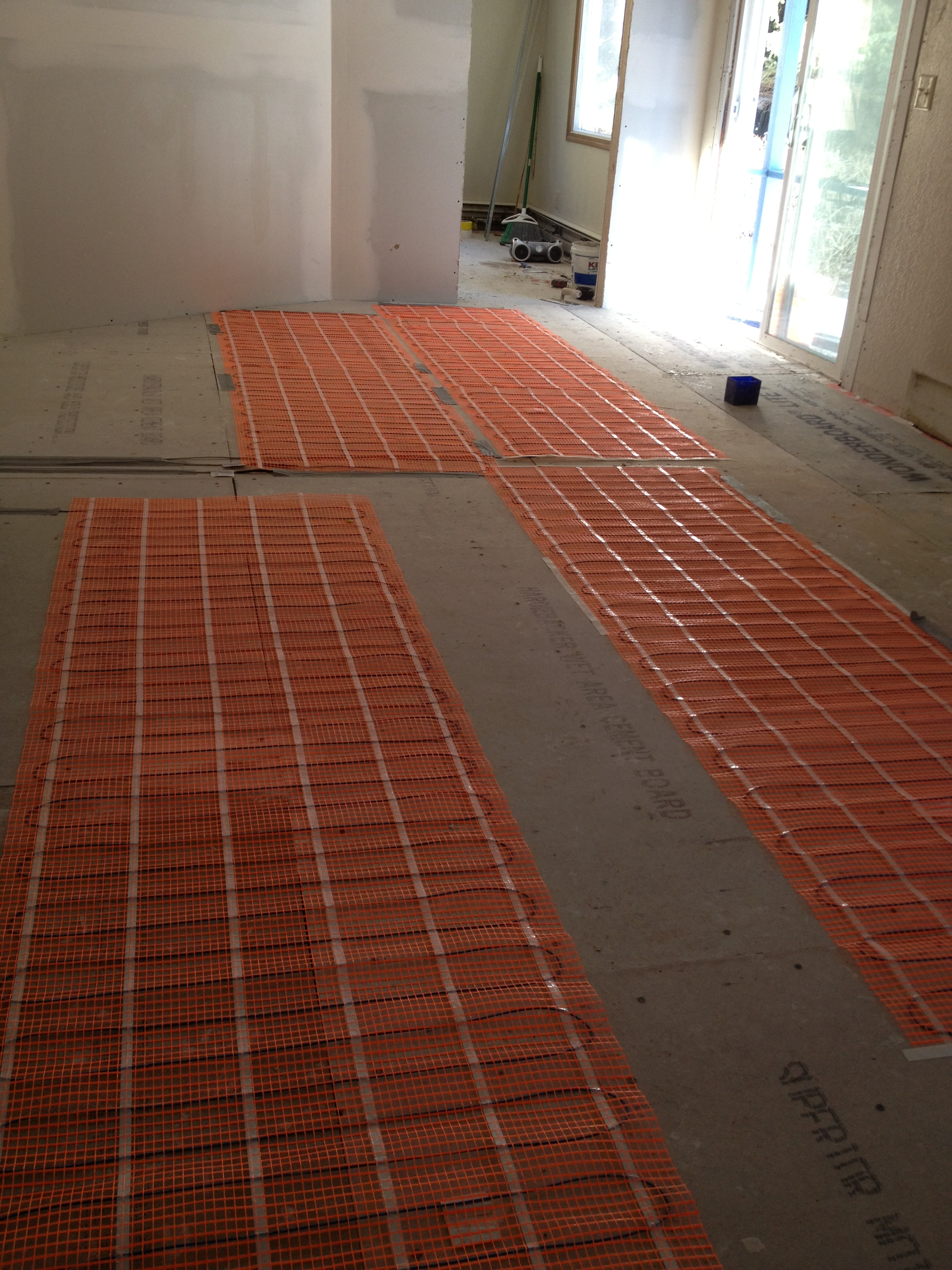 Radiant heat flooring materials images Radiant floors